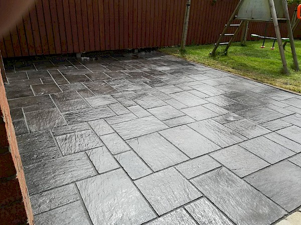 Patio in Priorland Dundalk, Co Louth - After